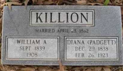 KILLION, DIANA - Logan County, Arkansas | DIANA KILLION - Arkansas Gravestone Photos