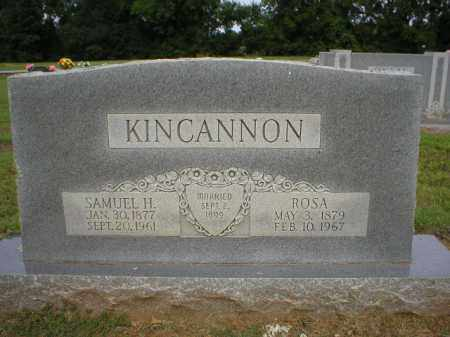 KINCANNON, ROSA - Logan County, Arkansas | ROSA KINCANNON - Arkansas Gravestone Photos