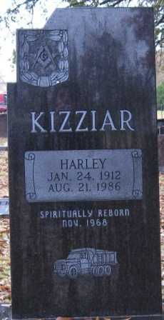 KIZZIAR, HARLEY - Logan County, Arkansas | HARLEY KIZZIAR - Arkansas Gravestone Photos