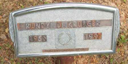 KRUEGER, RANDY D. - Logan County, Arkansas | RANDY D. KRUEGER - Arkansas Gravestone Photos