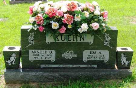KUEHN, IDA ANNA - Logan County, Arkansas | IDA ANNA KUEHN - Arkansas Gravestone Photos