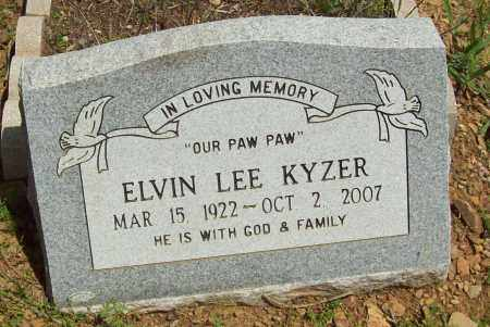 KYZER, ELVIN LEE - Logan County, Arkansas | ELVIN LEE KYZER - Arkansas Gravestone Photos