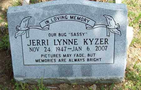 KYZER, JERRI LYNNE - Logan County, Arkansas | JERRI LYNNE KYZER - Arkansas Gravestone Photos