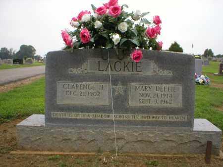 LACKIE, MARY - Logan County, Arkansas | MARY LACKIE - Arkansas Gravestone Photos