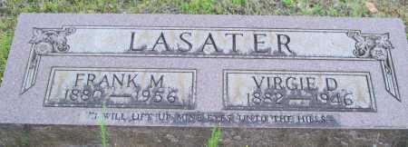 LASATER, VIRGIE D. - Logan County, Arkansas | VIRGIE D. LASATER - Arkansas Gravestone Photos