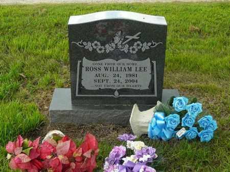 LEE, ROSS - Logan County, Arkansas   ROSS LEE - Arkansas Gravestone Photos