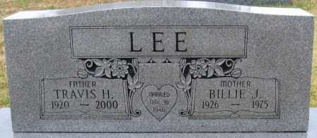 LEE, BILLIE J. - Logan County, Arkansas | BILLIE J. LEE - Arkansas Gravestone Photos