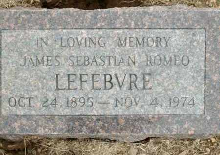 LEFEBVRE, JAMES SEBASTIAN ROMEO - Logan County, Arkansas | JAMES SEBASTIAN ROMEO LEFEBVRE - Arkansas Gravestone Photos