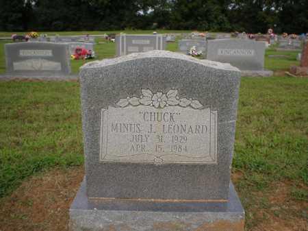 "LEONARD, MINUS J. ""CHUCK"" - Logan County, Arkansas | MINUS J. ""CHUCK"" LEONARD - Arkansas Gravestone Photos"