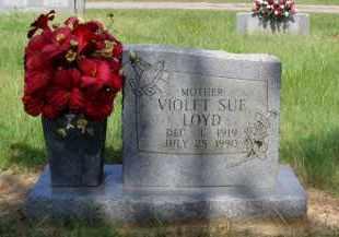 LOYD, VIOLET SUE - Logan County, Arkansas | VIOLET SUE LOYD - Arkansas Gravestone Photos