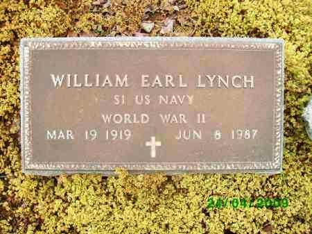 LYNCH (VETERAN WWII), WILLIAM EARL - Logan County, Arkansas | WILLIAM EARL LYNCH (VETERAN WWII) - Arkansas Gravestone Photos