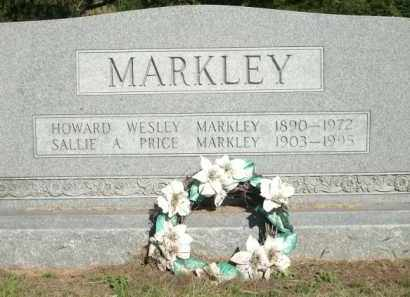 MARKLEY, SALLIE A. - Logan County, Arkansas | SALLIE A. MARKLEY - Arkansas Gravestone Photos