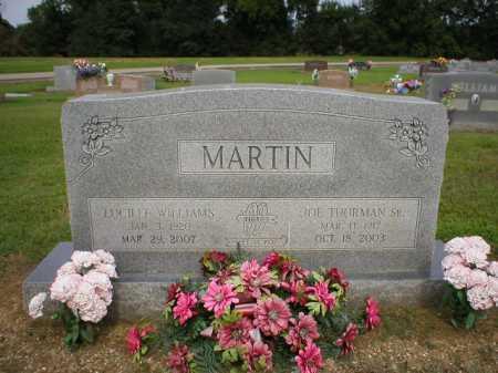 MARTIN, SR., JOE THURMAN - Logan County, Arkansas | JOE THURMAN MARTIN, SR. - Arkansas Gravestone Photos
