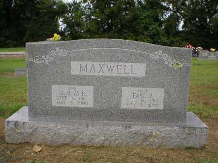 PORTER MAXWELL, GLADYS - Logan County, Arkansas | GLADYS PORTER MAXWELL - Arkansas Gravestone Photos