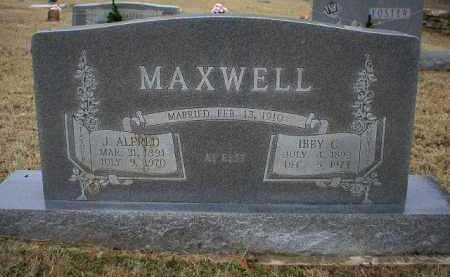 MAXWELL, IBBY C - Logan County, Arkansas | IBBY C MAXWELL - Arkansas Gravestone Photos