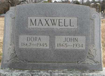 MAXWELL, JOHN - Logan County, Arkansas | JOHN MAXWELL - Arkansas Gravestone Photos