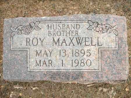 MAXWELL, ROY - Logan County, Arkansas   ROY MAXWELL - Arkansas Gravestone Photos