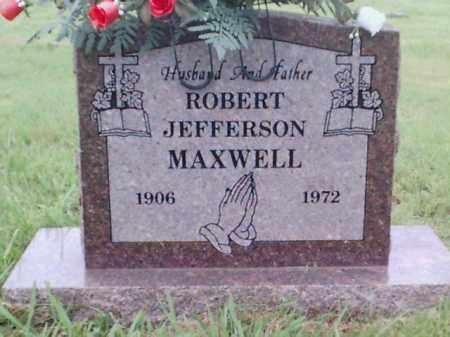 MAXWELL, ROBERT JEFFERSON - Logan County, Arkansas | ROBERT JEFFERSON MAXWELL - Arkansas Gravestone Photos