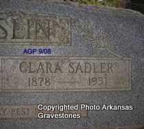 MCCASLIN, CLARA (CLOSEUP) - Logan County, Arkansas | CLARA (CLOSEUP) MCCASLIN - Arkansas Gravestone Photos