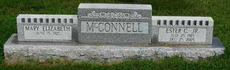 MCCONNELL,  JR., ESTER C. - Logan County, Arkansas   ESTER C. MCCONNELL,  JR. - Arkansas Gravestone Photos