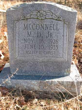 MCCONNELL, JR., M D - Logan County, Arkansas | M D MCCONNELL, JR. - Arkansas Gravestone Photos