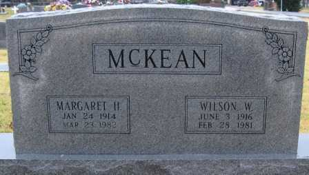 MCKEAN, MARGARET H. - Logan County, Arkansas | MARGARET H. MCKEAN - Arkansas Gravestone Photos