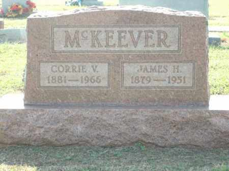 MCKEEVER, JAMES H. - Logan County, Arkansas | JAMES H. MCKEEVER - Arkansas Gravestone Photos