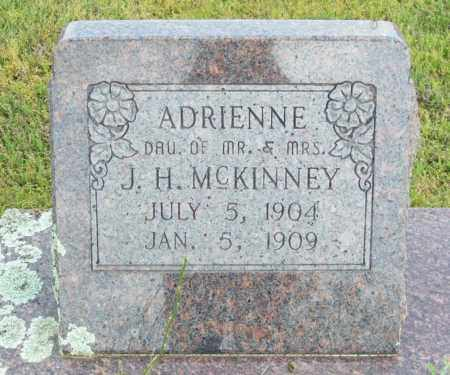 MCKINNEY, ADRIENNE - Logan County, Arkansas | ADRIENNE MCKINNEY - Arkansas Gravestone Photos