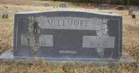 MCLEMORE, ANDREW JACKSON - Logan County, Arkansas   ANDREW JACKSON MCLEMORE - Arkansas Gravestone Photos