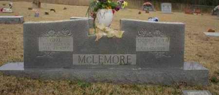 MCLEMORE, OPAL - Logan County, Arkansas | OPAL MCLEMORE - Arkansas Gravestone Photos
