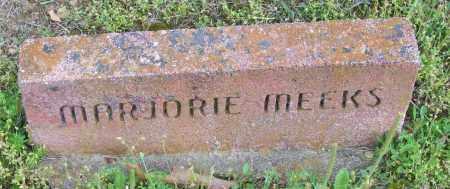MEEKS, MARJORIE - Logan County, Arkansas | MARJORIE MEEKS - Arkansas Gravestone Photos