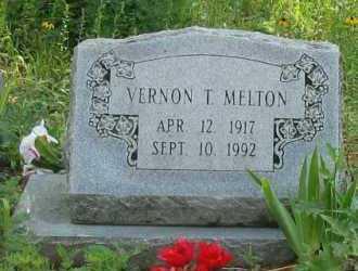 MELTON, VERNON T - Logan County, Arkansas | VERNON T MELTON - Arkansas Gravestone Photos