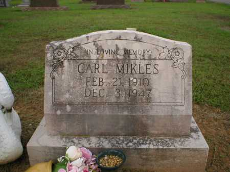 MIKLES, CARL - Logan County, Arkansas | CARL MIKLES - Arkansas Gravestone Photos
