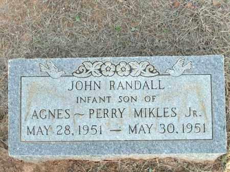 MIKLES, JOHN RANDALL - Logan County, Arkansas | JOHN RANDALL MIKLES - Arkansas Gravestone Photos
