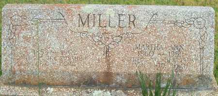 MILLER, J.M. - Logan County, Arkansas | J.M. MILLER - Arkansas Gravestone Photos