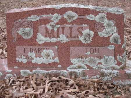 MILLS, LOU - Logan County, Arkansas | LOU MILLS - Arkansas Gravestone Photos