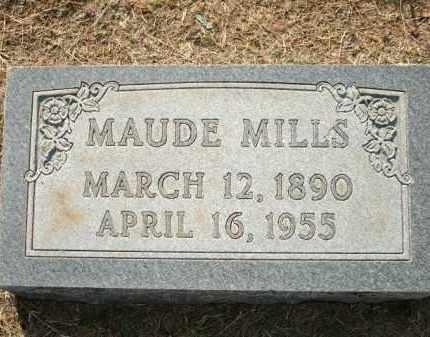MILLS, MAUDE - Logan County, Arkansas | MAUDE MILLS - Arkansas Gravestone Photos