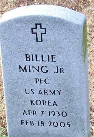MING, JR (VETERAN KOR), BILLIE - Logan County, Arkansas   BILLIE MING, JR (VETERAN KOR) - Arkansas Gravestone Photos