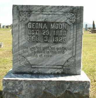 MOON, GEONA - Logan County, Arkansas | GEONA MOON - Arkansas Gravestone Photos