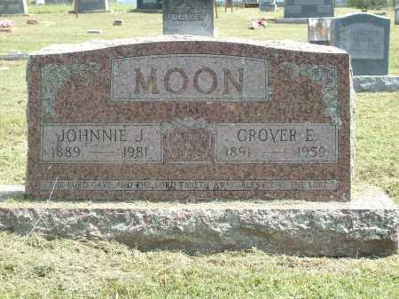 MOON, GROVER E - Logan County, Arkansas | GROVER E MOON - Arkansas Gravestone Photos