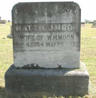 CRAIGHEAD MOON, MATTIE J - Logan County, Arkansas | MATTIE J CRAIGHEAD MOON - Arkansas Gravestone Photos