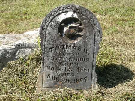 MOON, THOMAS R - Logan County, Arkansas | THOMAS R MOON - Arkansas Gravestone Photos