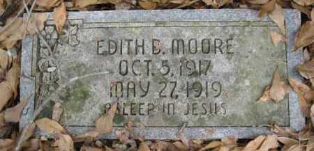 MOORE, EDITH B - Logan County, Arkansas   EDITH B MOORE - Arkansas Gravestone Photos