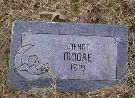 MOORE, INFANT - Logan County, Arkansas | INFANT MOORE - Arkansas Gravestone Photos