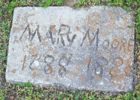 MOORE, MARY - Logan County, Arkansas   MARY MOORE - Arkansas Gravestone Photos