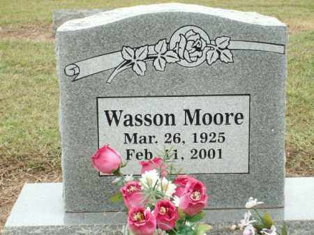 MOORE, WASSON - Logan County, Arkansas   WASSON MOORE - Arkansas Gravestone Photos