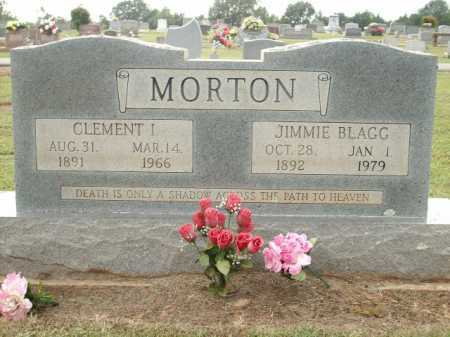 MORTON, CLEMENT I. - Logan County, Arkansas | CLEMENT I. MORTON - Arkansas Gravestone Photos
