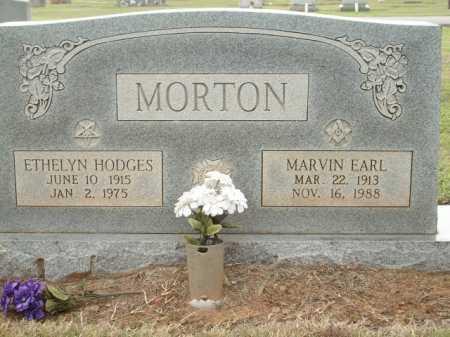 MORTON, MARVIN EARL - Logan County, Arkansas   MARVIN EARL MORTON - Arkansas Gravestone Photos