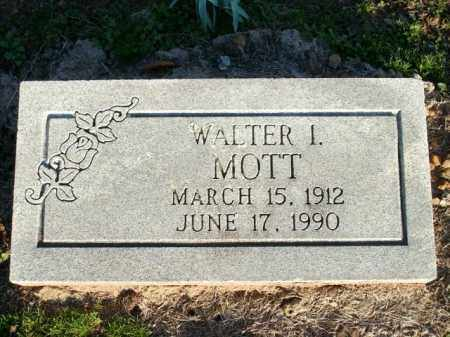 MOTT, WALTER L. - Logan County, Arkansas | WALTER L. MOTT - Arkansas Gravestone Photos