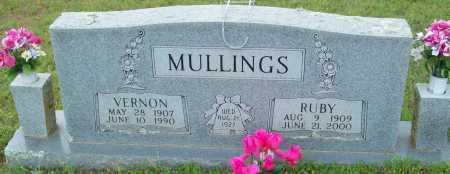 MULLINGS, VERNON - Logan County, Arkansas | VERNON MULLINGS - Arkansas Gravestone Photos